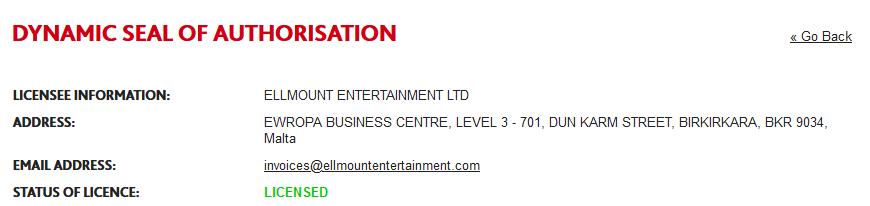 Casino Room Casino License