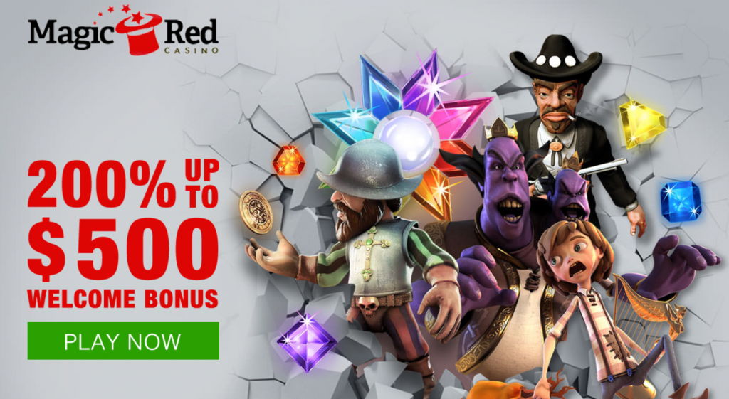 Magic Red Casino Welcome Bonus