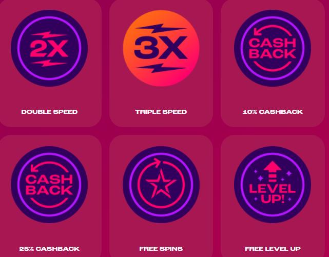 Wheelz Online Casino Extra Wheel Rewards