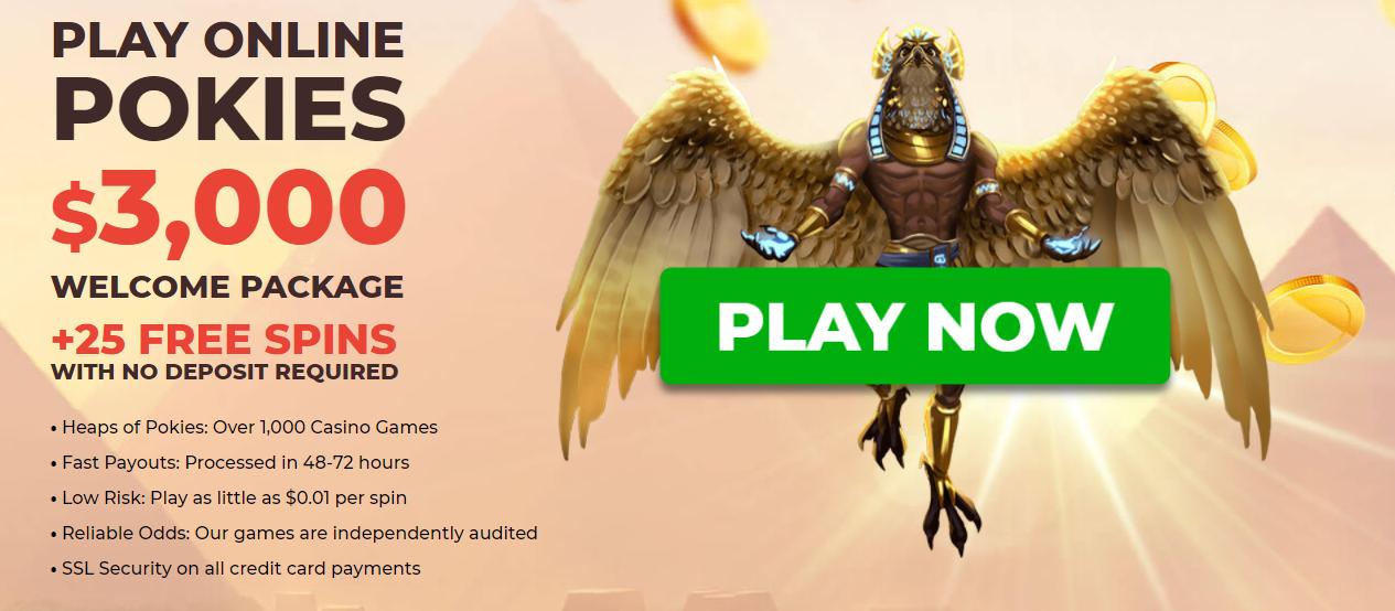 Pokie Place Casino Welcome Bonus