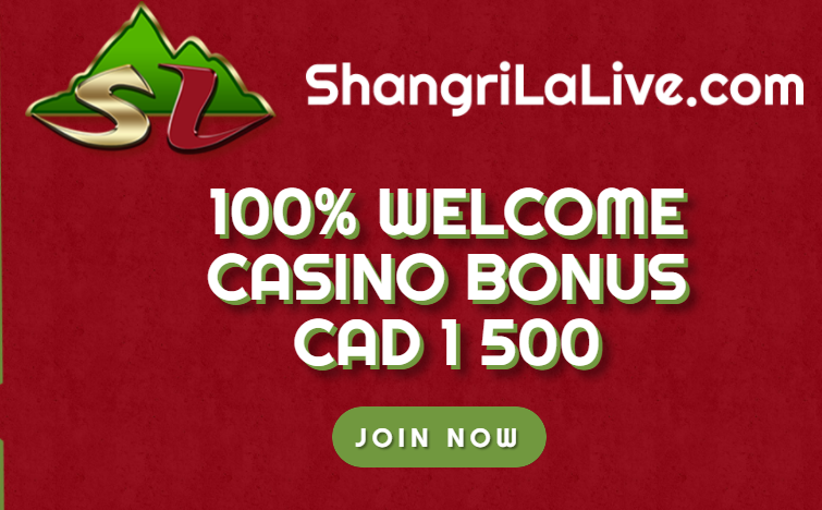 Shangrila Live Casino Welcome Package