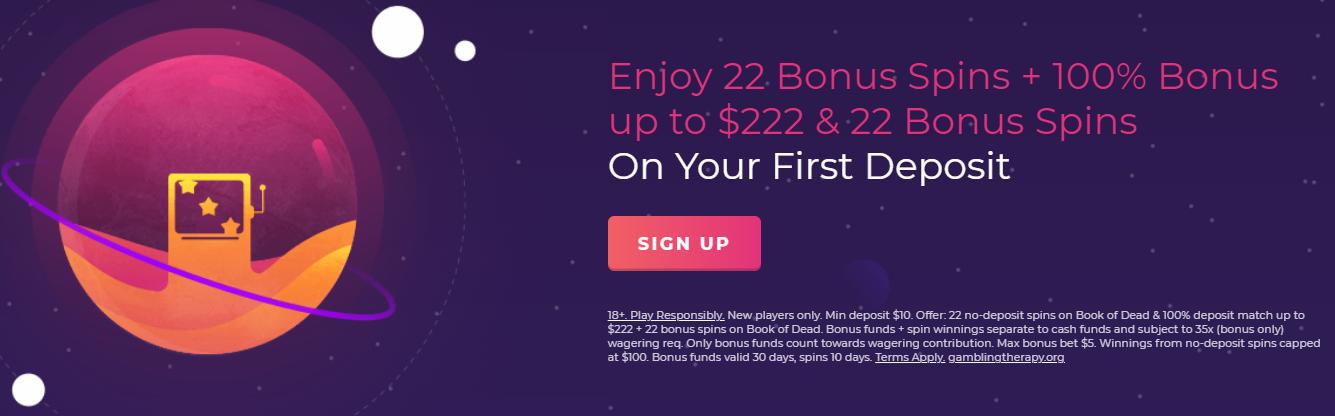 Slot Planet Welcome Bonus Offer