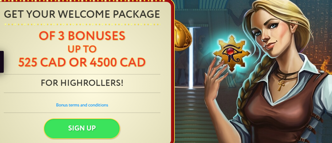 Slot Wolf Casino Welcome Package