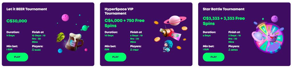 Casino Rocket Tournaments