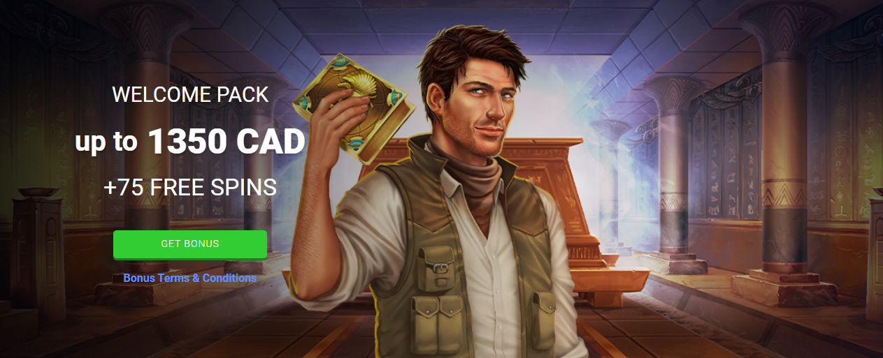 Megaslot Casino Welcome Bonus