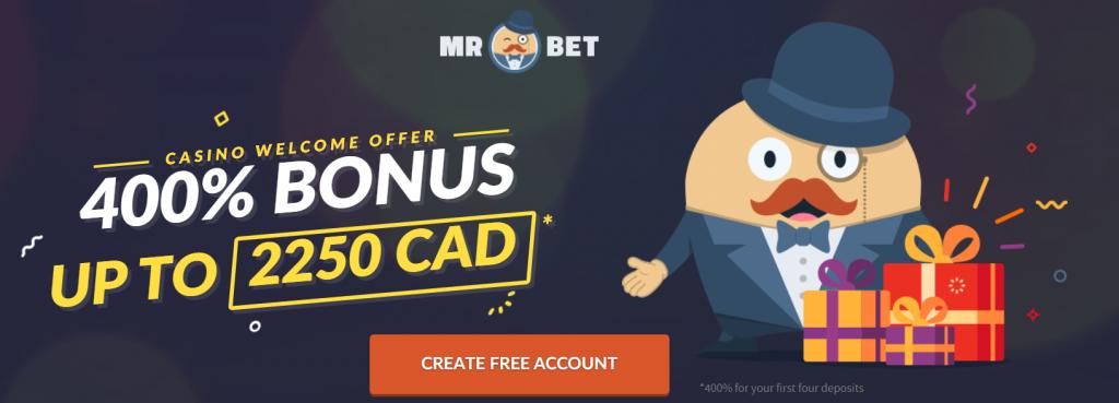 Mr Bet Casino Welcome Bonus