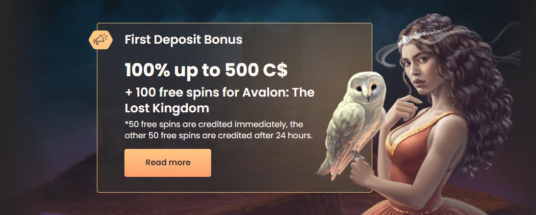 National Casino Sign-up Bonus