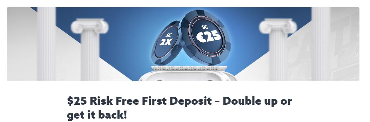 Scatters Casino Welcome Bonus