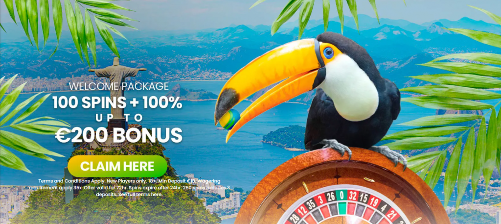 Spin Rio Welcome Offer