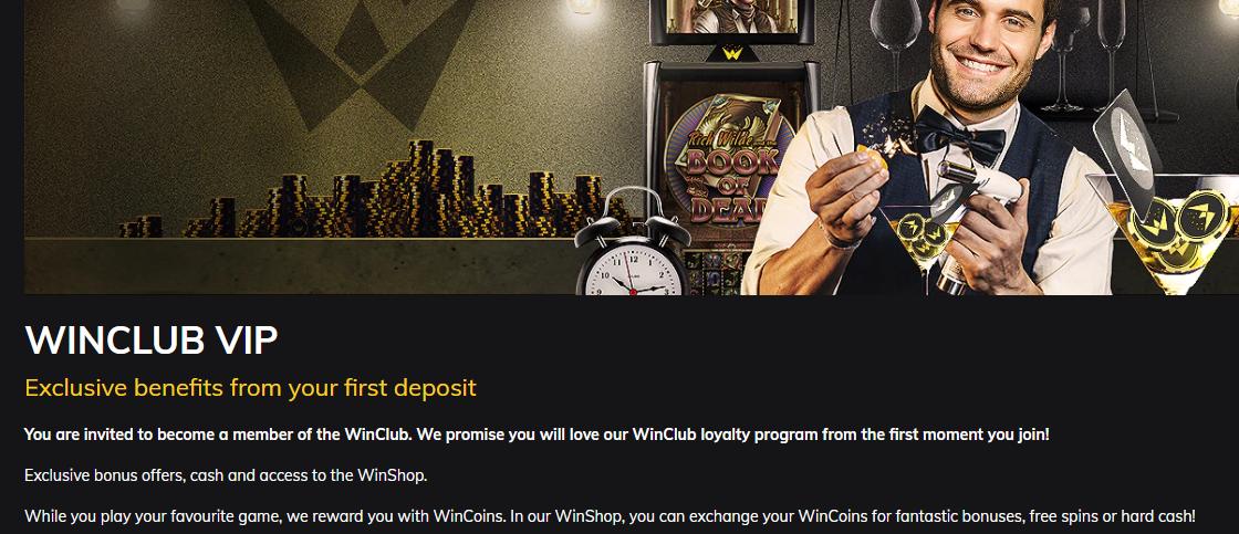 Winfest Casino VIP Club