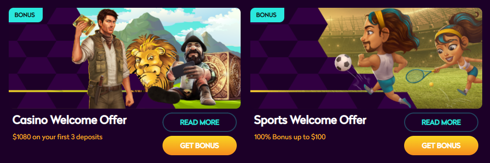 Casino360 Welcome Bonuses