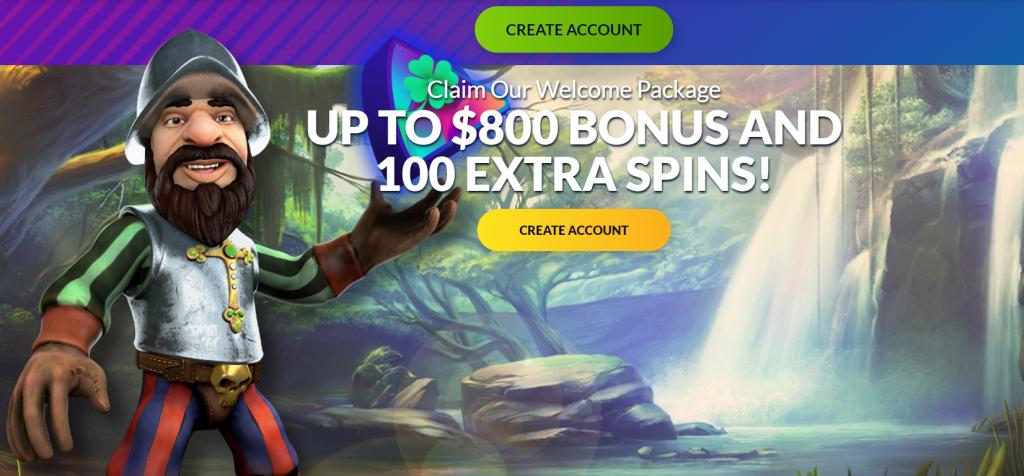 PlayLuck Welcome Bonus