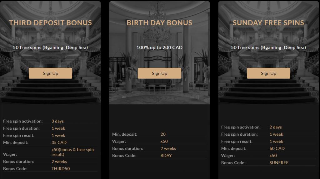 Premier Casino Promotions