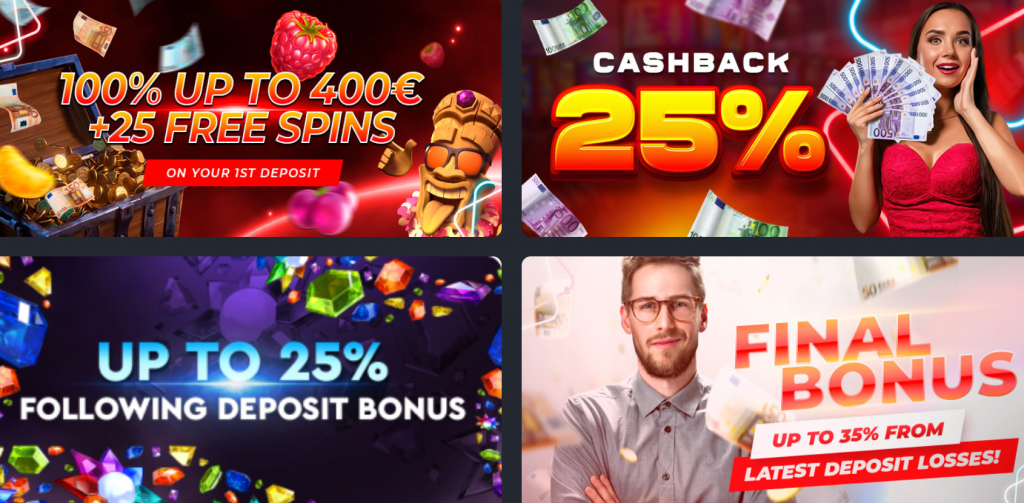 Rich Prize Casino Bonuses and Promotions